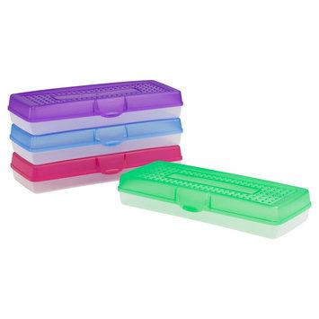 Storex Pencil Box 12ct - Multicolor, Multi-Colored