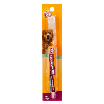 ARM and Hammer, Advanced Care Adult Dog Toothbrush (Color Varies) size: 1 Count, Arm & Hammer