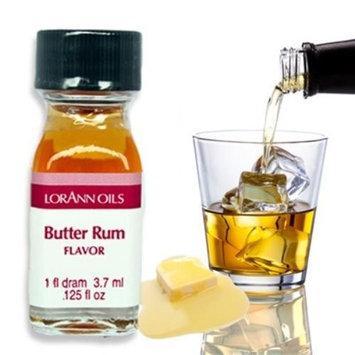 Butter Rum - 2 Dram Pack - LorAnn Oils - Includes a Recipe Card
