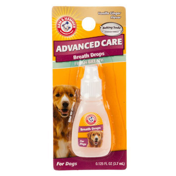 Arm & Hammer ARM and Hammer, Advanced Care Vanilla Ginger Fresh Breath Dog Breath Drops