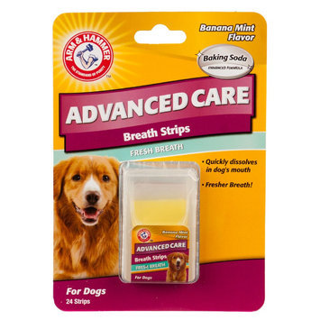 Arm & Hammer ARM and Hammer, Advanced Care Banana Mint Fresh Breath Dog Breath Strips