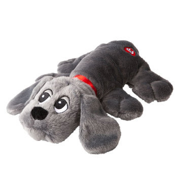 Luv-A-Pet, Pound Puppies Long Ear Squeaker Dog Toy size: Large, Dark Gray
