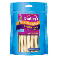 Dentley's® Natural Small Rawhide Twists Dog Treat size: 20 Count