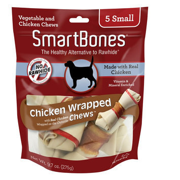 SmartBones® Chicken Wrapped Small Chews Dog Treat - Chicken size: 5 Count