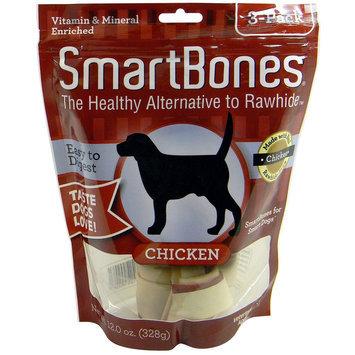 SmartBones® Medium Chew Dog Treat - Chicken size: 3 Count