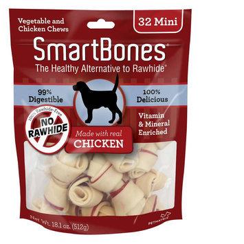 SmartBones® Mini Chews Dog Treat - Chicken size: 32 Count