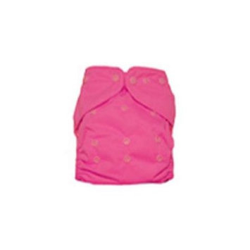 Kissa's One Size All In One Diaper- Hip Pink