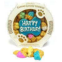 Claudia's Canine Cuisine Blue Birthday Cookie Dog Treat, Claudia's Cuisine