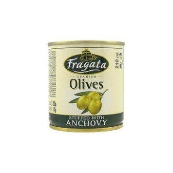 Fragata Spanish Olives Stuffed With Anchovy 200G