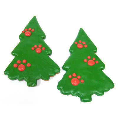 Claudia's Cuisine Claudia's Canine Cuisine Holiday Tree Dog Treat size: 6 Count