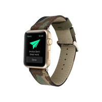 iPM Canvas Replacement Band for Apple Watch 42mm - Camouflage, Adult Unisex, Green