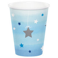 Hoffmaster Group 322234 12 by 8 Count Twinkle One Little Star Boy 9 oz Paper Cups - Case of 12
