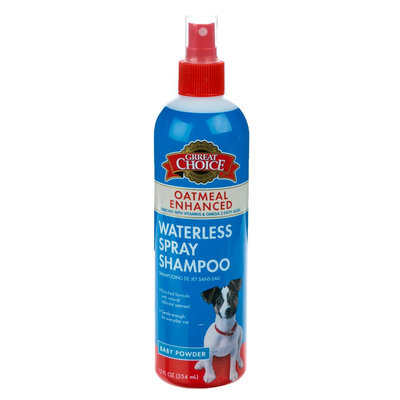 Grreat Choice® Oatmeal Enhanced Waterless Shampoo Dog Spray