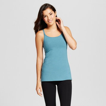 Gilligan & O'malley Women's Nursing Cotton Cami - Nokomis Blue L