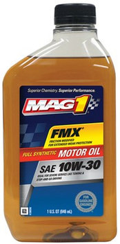 Warren Distribution MG13FLPL Mag1 10W30 Synthetic Oil (Pack of 6)