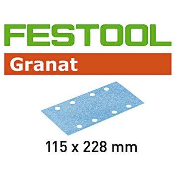 Festool Granat StickFix Abrasive Sanding Sheets 115 x 228mm P150 Pack of 100