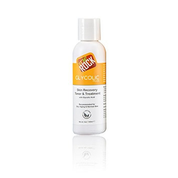 Irie Rock Glycolic Plus Skin Recovery Toner &Treatment with Glycolic Acid-4oz, anti-aging, reduces dark spots