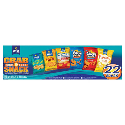 Wise Grab & Snack Variety Pack - 22ct