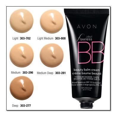 Avon Ideal Flawless BB Beauty Balm Cream Light Medium