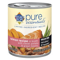 Nature's Recipe Natures's Recipe® Pure Essentials, Limited Ingredient Recipe Dog Food - Grain Free, Salmon size: 10 Oz