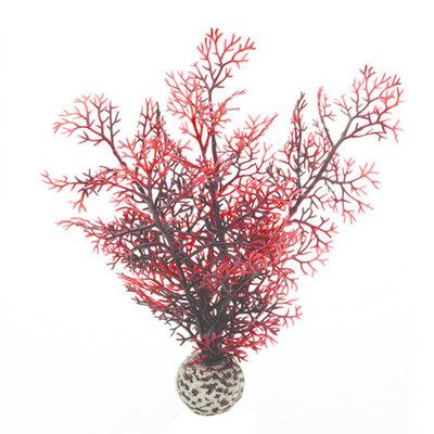 biOrb Sea Fan Aquarium Artificial Plants - Crimson (Red) - S