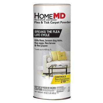 Home MD, Maximum Defense Flea and Tick Carpet Powder