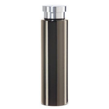 Oggi Cosmo Lustre 17oz Stainless Steel Insulated Water Bottle - Black