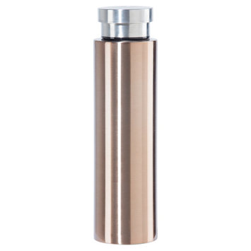 Oggi Cosmo Lustre 17oz Stainless Steel Insulated Water Bottle - Gold