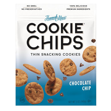Hannah Max Thin Snacking Chocolate Chip Cookies - 5oz