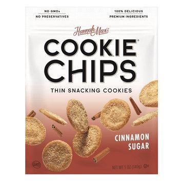 Hannahmax Hannah Max Thin Snacking Cinnamon Sugar Cookie Chips - 5oz