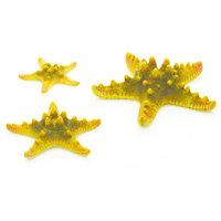 biOrb Starfish Set Aquarium Sculptures - Yellow