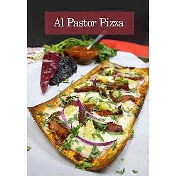 FLATOUT Flatbread - Thin Pizza Crust RUSTIC WHITE (1 Pack of 6 Pizza Crusts)