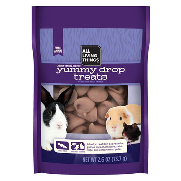 All Living Things® Yummy Cherry Vanilla Drops for Small Animals size: 2.6 Oz