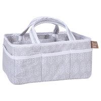 Trend Lab Storage Caddy - Gray Leaf
