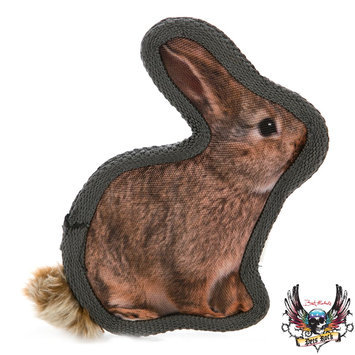 Bret Michaels Pets Rock, Critter Rabbit Dog Toy - Squeaker