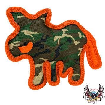 Bret Michaels Pets Rock, Camo Ballastic Boar Dog Toy - Squeaker