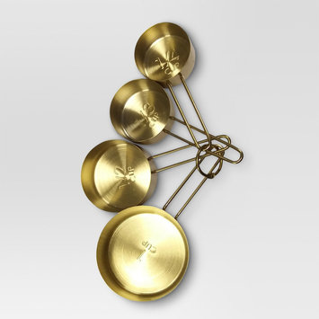 Measuring Cup Set - Threshold, Gold