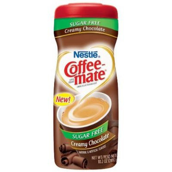 Nestle Coffee Mate - New! Sugar Free Creamy Chocolate - 10.2 OZ Pack of 6
