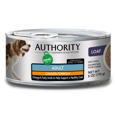 Authority® GNC Pets Adult Dog Food - Chicken size: 6 Oz