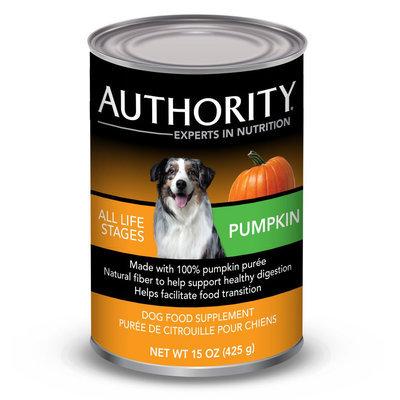 Authority® Dog Food Supplement - Pumpkin size: 15 Oz