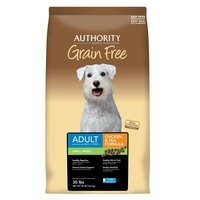 Authority® Grain Free Small Breed Adult Dog Food - Chicken and Pea size: 30 Lb