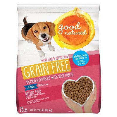 Good Natured Adult Dog Food Grain Free, Natural, Salmon and Peas
