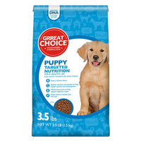 Grreat Choice® Targeted Nutrition Puppy Food - Chicken size: 3.5 Lb