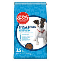 Grreat Choice® Targeted Nutrition Small Breed Dog Food - Chicken size: 3.5 Lb