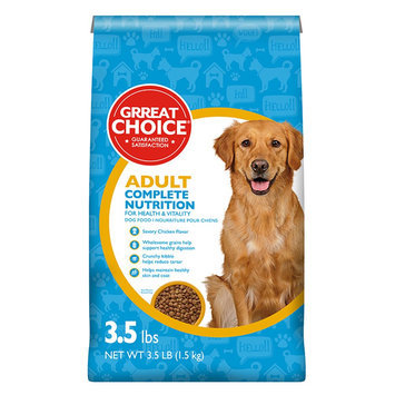 Grreat Choice® Complete Nutrition Adult Dog Food - Chicken size: 3.5 Lb