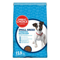 Grreat Choice® Targeted Nutrition Small Breed Dog Food - Chicken size: 15.9 Lb