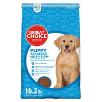 Grreat Choice® Targeted Nutrition Puppy Food - Chicken size: 16.3 Lb