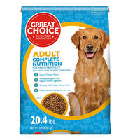 Grreat Choice® Complete Nutrition Adult Dog Food - Chicken size: 20.4 Lb