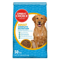 Grreat Choice® Complete Nutrition Adult Dog Food - Chicken size: 50 Lb