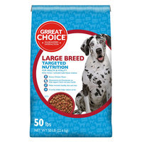 Grreat Choice® Targeted Nutrition Large Breed Dog Food - Chicken size: 50 Lb